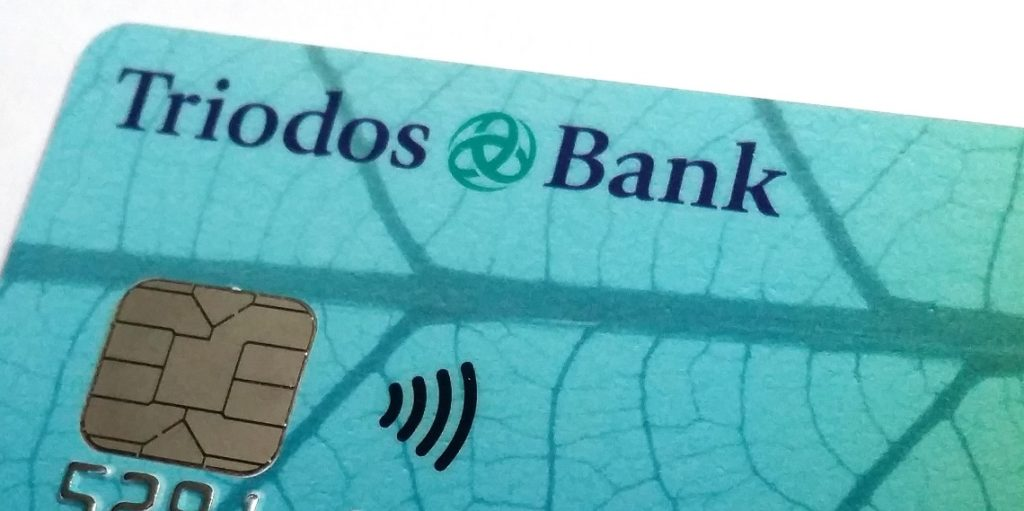 Sustainable banks: Triodos credit card